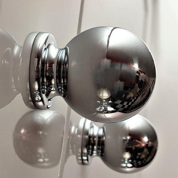 Round Boule Cabinet Knob