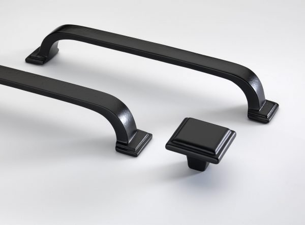 Windsor Cupboard Handle by Crofts & Assinder - Cast Iron